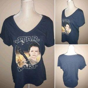 3/$20 Star WarsTee Shirt Extra Large XL Top
